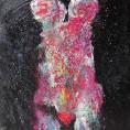 70x90cm, mixed media/canvas